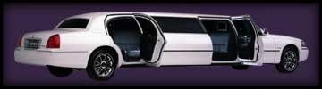 stretch limousine service for weddings, proms & airport runs