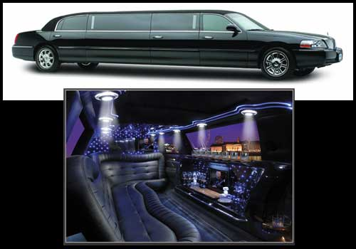 New Lincoln 5th Door Stretch Limousine